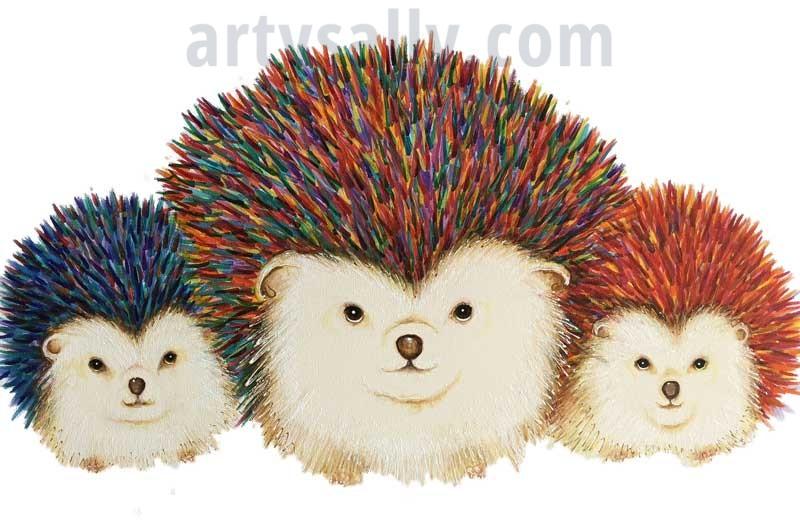 Punk Hedgehogs