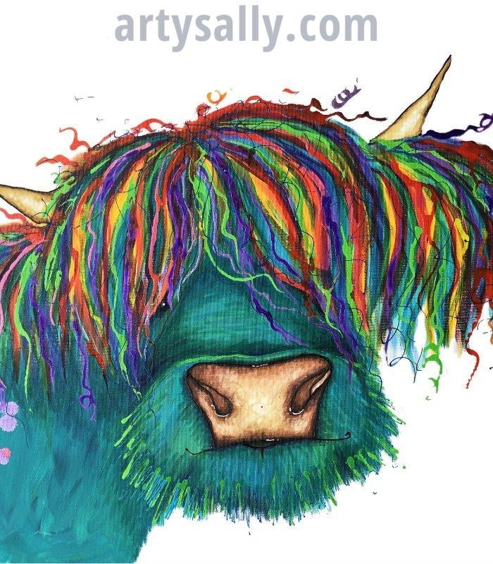 Highland cow (Rasta)