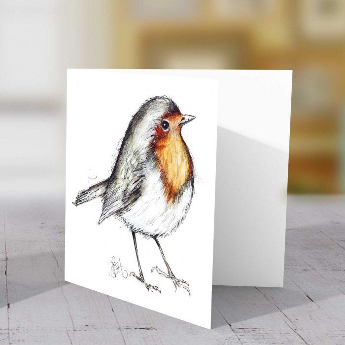 Robin Sketch Greeting Card