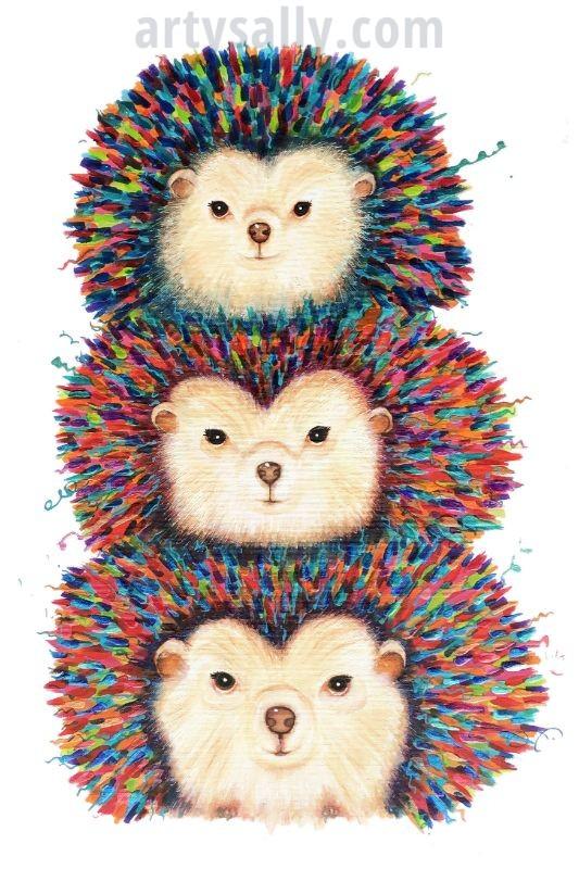 Hedgehog Stacker