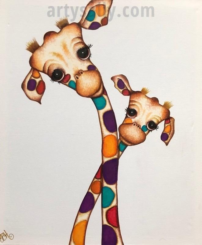 Acrylic & Resin Original Paintings
