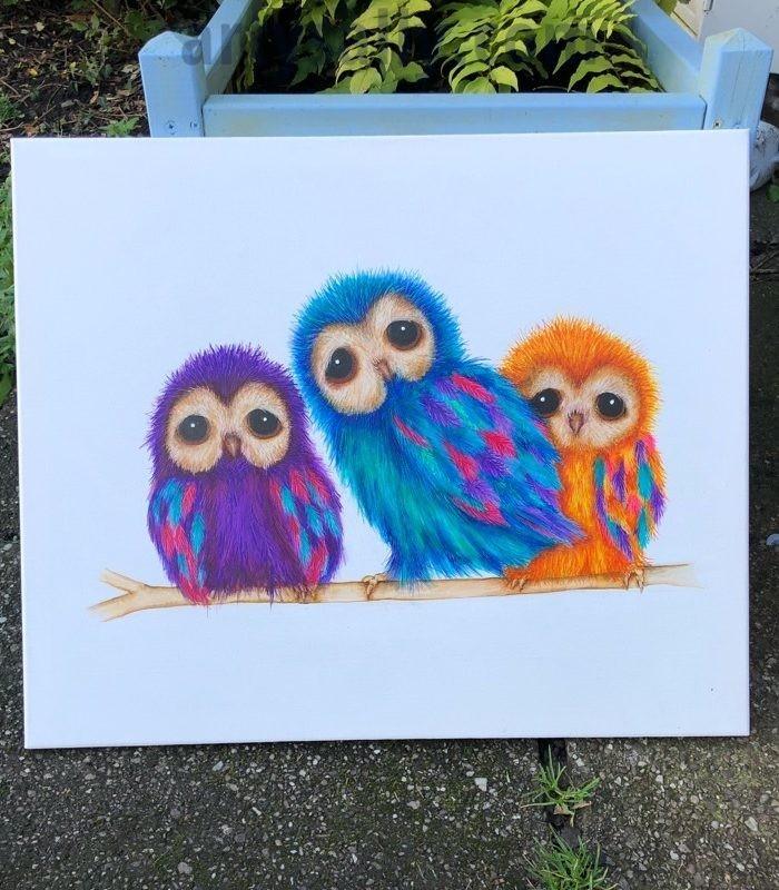Fluffy Owls